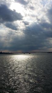 Auf der for free ferry nach Staten Island
